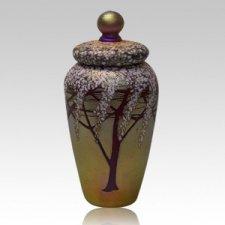 Golden Cherry Cremation Urns