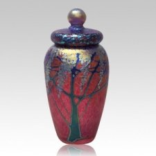 Golden Ruby Cremation Urn