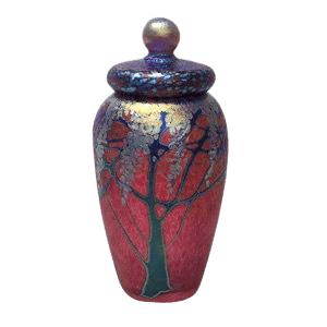 Golden Ruby Cremation Urn