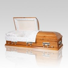 Wheat Wood Casket