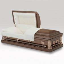 Wheaton Gold Metal Casket