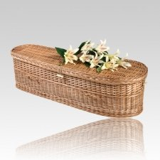 Willow Large Green Burial Caskets