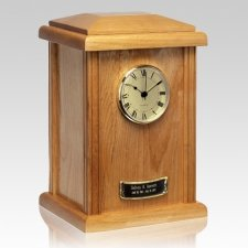 Naturale Clock Cremation Urn