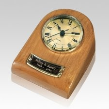 Naturale Clock Keepsake Cremation Urn
