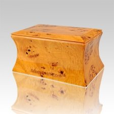 Bremount Wood Cremation Urn