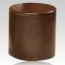 Barillet Walnut Cremation Urn
