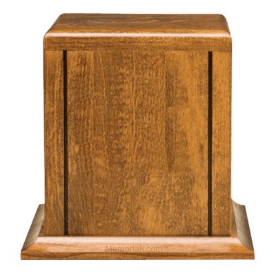 Montgomery Wood Cremation Urn