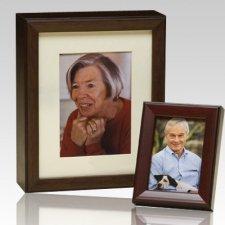 Photo Legacy Wood Cremation Urn
