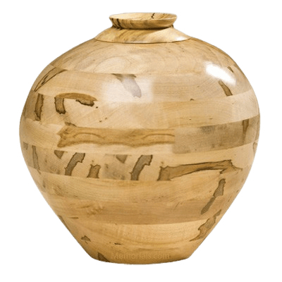 Wabanaki Wood Cremation Urn