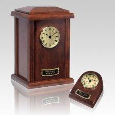 Merlot Clock Cremation Urns