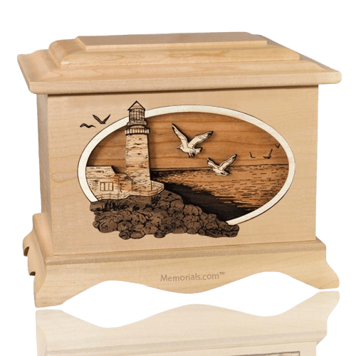 Sea Coast Maple Cremation Urn