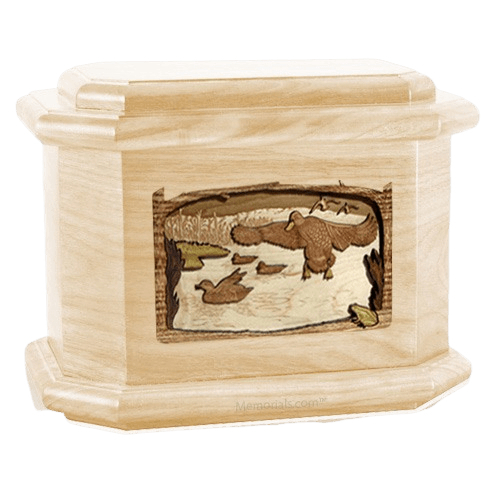 Marshland Melody Maple Octagon Cremation Urn