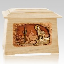 Desert Moon Maple Aristocrat Cremation Urn