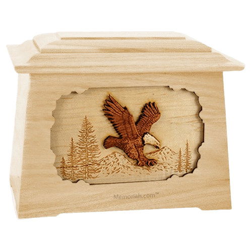 Eagle Maple Aristocrat Cremation Urn