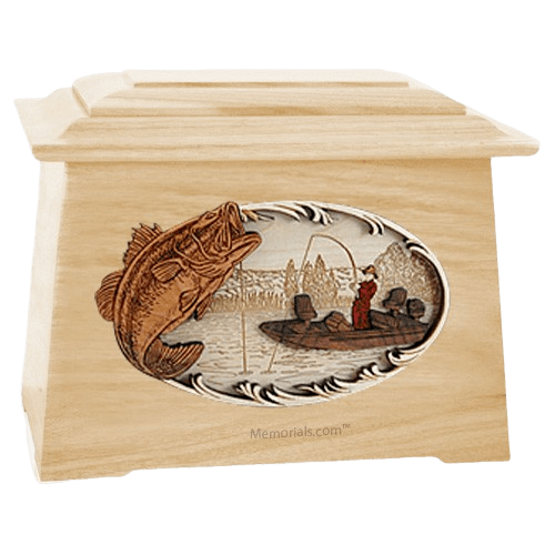 Catch of the Day Maple Aristocrat Cremation Urn