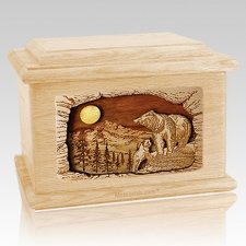 Country Haven Maple Memory Chest Cremation Urn