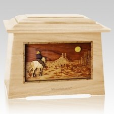 Horse Moon Maple Aristocrat Cremation Urn