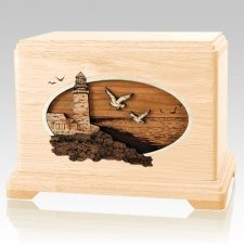 Sea Coast Maple Hampton Cremation Urn