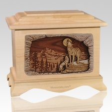Moonlight Serenade Maple Cremation Urn