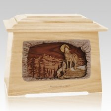 Moonlight Serenade Maple Aristocrat Cremation Urn