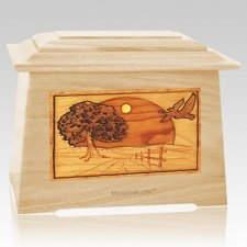 Geese Maple Aristocrat Cremation Urn
