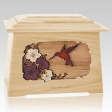 Hummingbird Maple Aristocrat Cremation Urn
