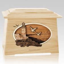 Sea Coast Maple Aristocrat Cremation Urn