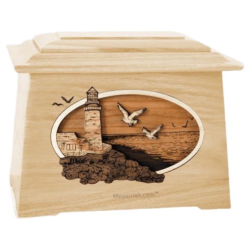 Sea Coast Maple Aristocrat Cremation Urn