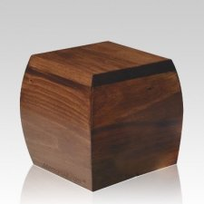 Bainbridge Small Wood Cremation Urn