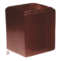 Contempo Wood Cremation Urn