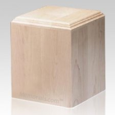 Contempo Wood Cremation Urn IV