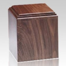 Contempo Walnut Pet Urn