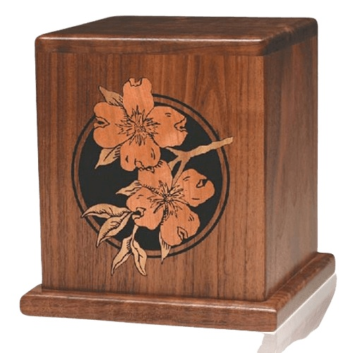 Dogwood Wood Cremation Urn