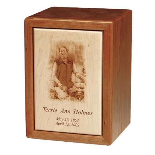 Ultimate Wood Cremation Urn