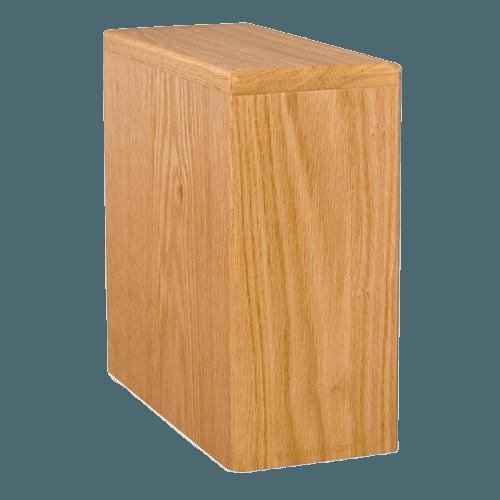 Eli Wood Cremation Urn