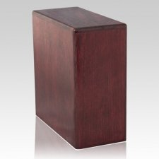 Rose Wood Cremation Urn