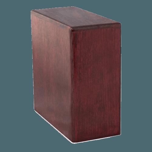 Rose Wood Cremation Urn