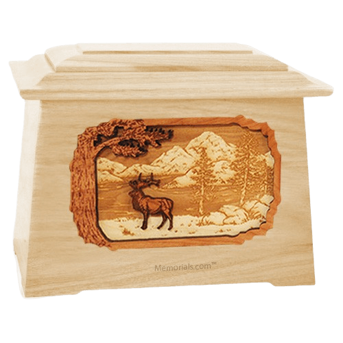 Elk Maple Aristocrat Cremation Urn