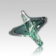 Seastar Green Art Glass Keepsake Urn