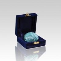 Brass Shell Pet Keepsake Urn