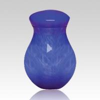 Blue Capri Children Cremation Urn