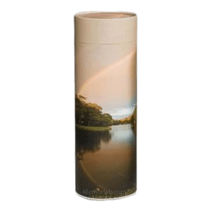 Rainbow Scattering Biodegradable Urn