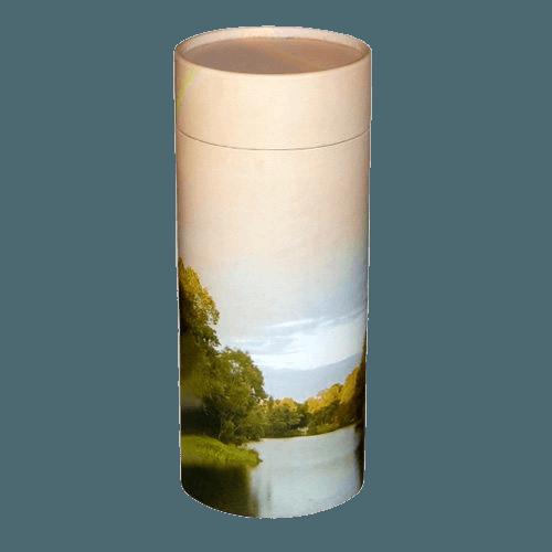 Rainbow Scattering Medium Large Biodegradable Urn