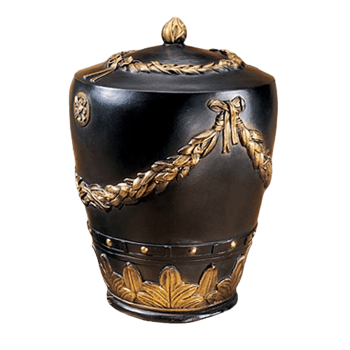 Roman Wreath Cremation Urn