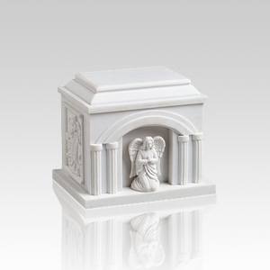Praying Angel Small Religious Cremation Urn