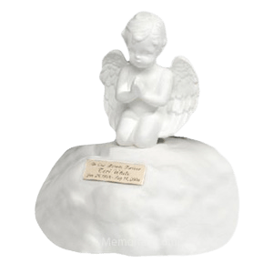Angel on a Cloud Cremation Urn