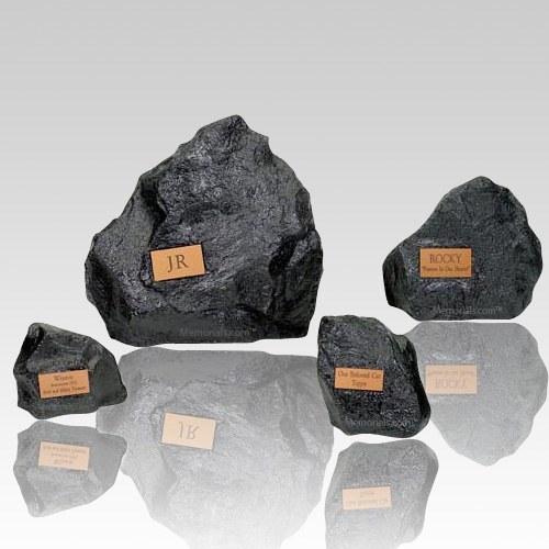 Granite Rock Pet Urns