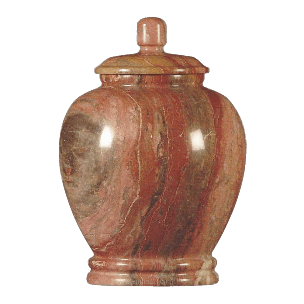 Rosemary Classic Marble Cremation Urn