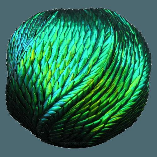 Unique Shimmer Urn