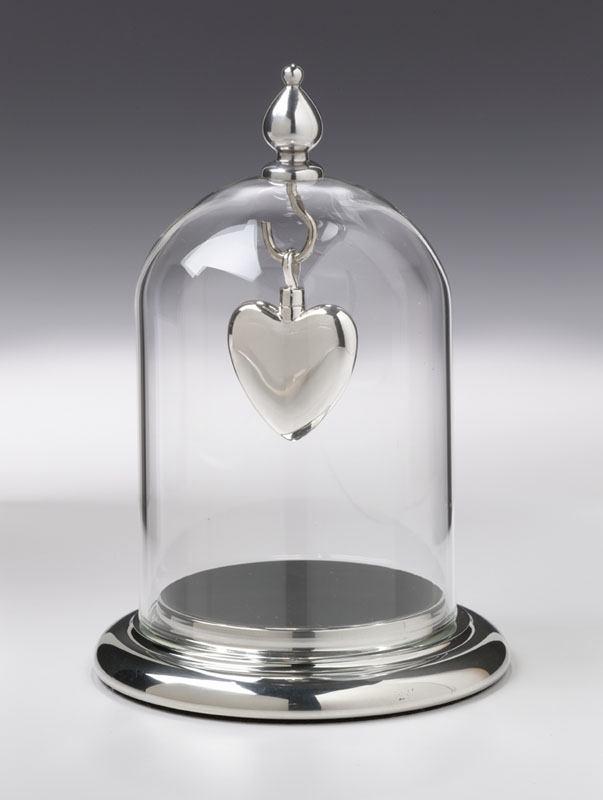 Silver Pendant Display Case